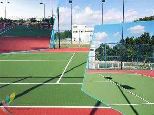 Thi Công Sơn Tennis
