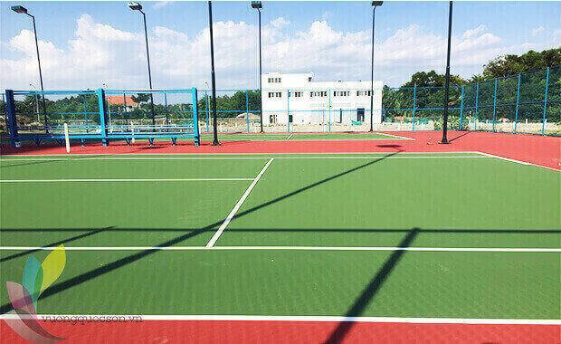 Thi Công Sân Tennis Tại Hà Nội