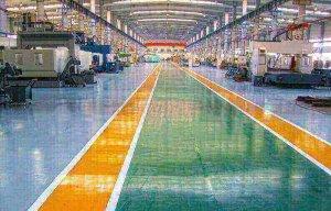 Quy trình thi công sơn epoxy tự san phẳng nhà xưởng