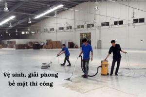 Nhà Thầu Thi Công Sơn Sàn Epoxy Giá Rẻ Tại Tỉnh Lâm Đồng