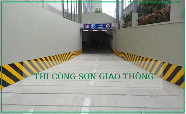 Thi Công Sơn Tầng Hầm