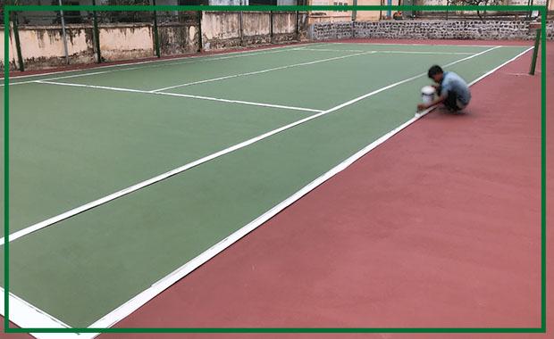 Quy Trình Thi Công Sân Tennis