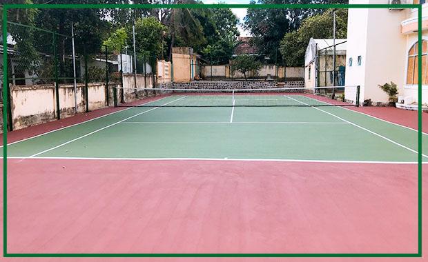 Thuyết Minh Biện Pháp Thi Công Sơn Sân Tennis