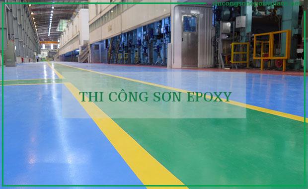 Nhà Thầu Thi Công Sơn Sàn Epoxy Giá Rẻ Tại Tỉnh Quảng Nam