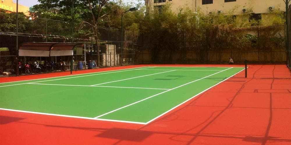 Thi Công Sơn Tennis Giá Rẻ