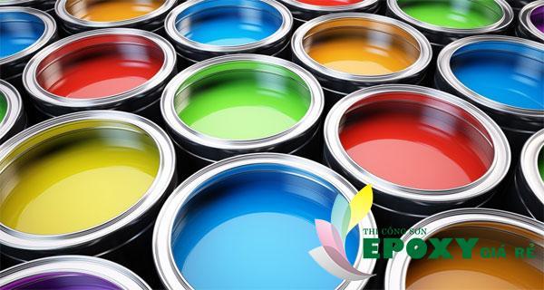 Các loại sơn dầu dùng trong thi công